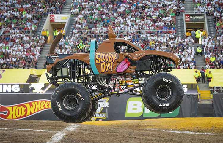 Trucks para esta Monster Jam 2017 en Madrid