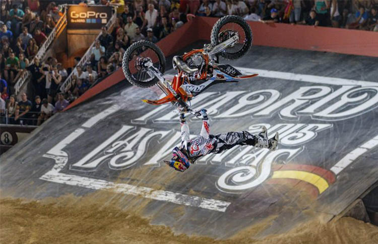 El Motocross en Madrid es Red Bull X-Fighters